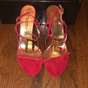 Dolce & Gabbana Strappy High Heel Sandals